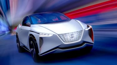 Nissan IMx concept - full front