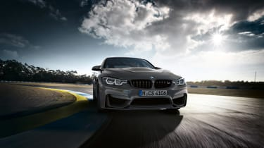 BMW M3 CS - front cornering