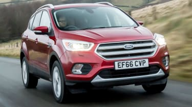 Used Ford Kuga Mk2 - front tracking