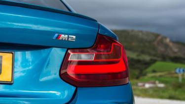 BMW M2 - rear light