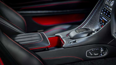 Aston Martin DBS Superleggera On Her Majesty's Secret Service - interior