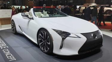 Lexus LC Convertible concept - Geneva front