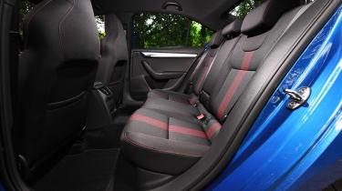 Skoda Octavia Sportline - rear seats