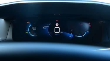 Peugeot 2008 - dials