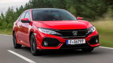 Honda Civic 1.6-litre diesel - front
