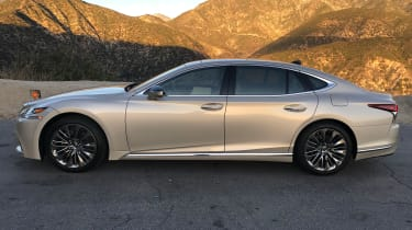 Lexus LS review - side