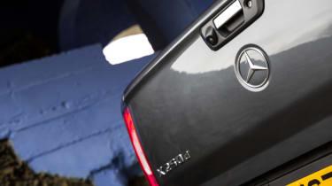 Mercedes X-Class review - boot lid