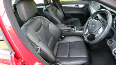 Used Mercedes C-Class - front seats