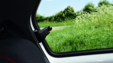 Volkswagen up! GTI rear window