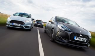 DS 3 Performance vs Ford Fiesta ST200 vs MINI JCW Sport - header
