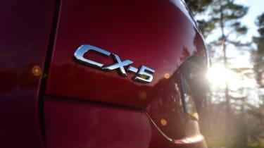 Mazda CX-5 - rear badge