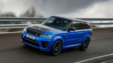 Range Rover Sport SVR - front tracking