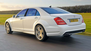 Mercedes S350 L rear tracking