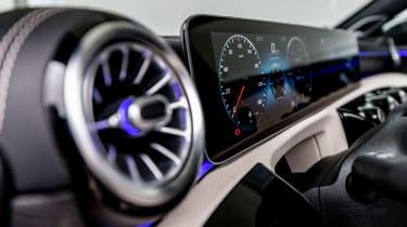 Mercedes A-Class - interior detail