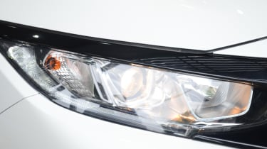 Honda Civic long-term review - headlight