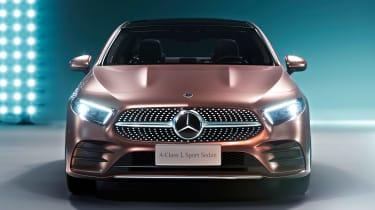 Mercedes A-Class saloon - full front