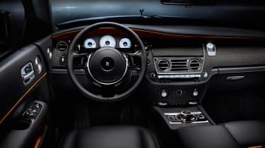 Rolls-Royce Dawn Black Badge - dash