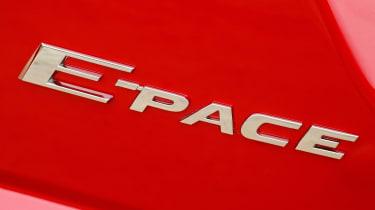 Jaguar E-Pace 240D diesel - badge