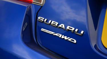 Subaru WRX STi 2014 - rear badging