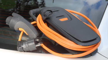Vauxhall Ampera charger