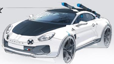 Alpine A110 SportsX - design