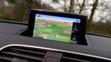 Audi Q3 group test - infotainment