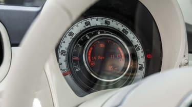 Fiat 500 dials