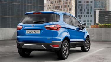 Ford EcoSport rear quarter static
