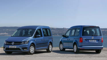 Volkswagen Caddy Life - static