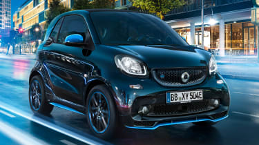 Smart EQ ForTwo - front action