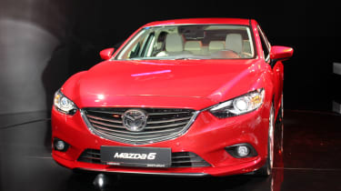 Mazda 6 on the stand