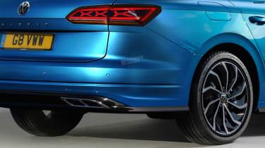 Volkswagen Passat Estate - rear detail (watermarked)