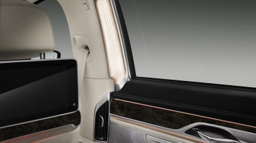 New 2015 BMW 7-Series window