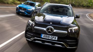 Mercedes GLE vs Volvo XC90 - head-to-head