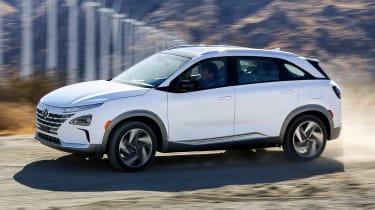 Hyundai NEXO fuel cell SUV - side