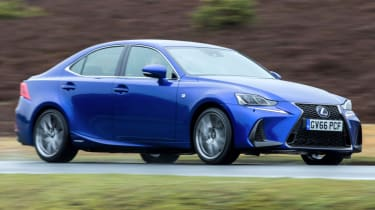 A to Z guide to electric cars - Lexus IS hybrid