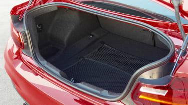BMW M235i 2014 boot