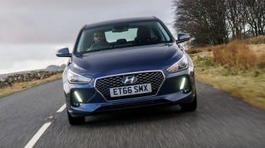 New Hyundai i30 - full front