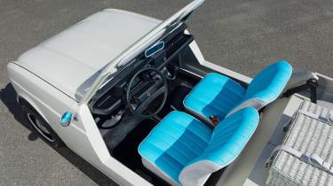 Renault 4 Plein Air beach car - interior