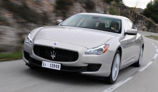 Maserati Quattroporte front tracking