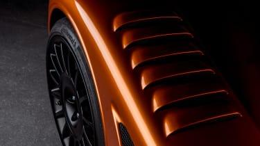 Morgan Aero GT teaser - detail