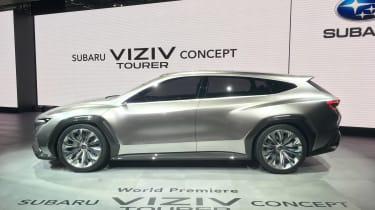 Subaru Viziv Tourer concept - Geneva side