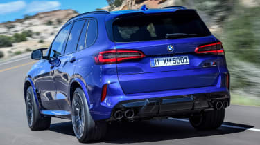 BMW X5 Competition - rear
