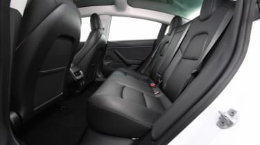 Tesla Model 3 - rear seats