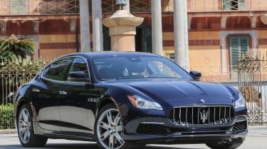 Maserati Quattroporte Diesel 2016 - front quarter