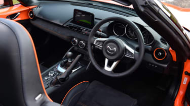 Mazda MX-5 30th Anniversary - interior