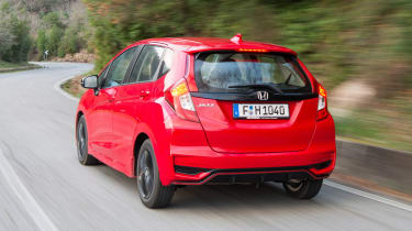 Honda Jazz - rear