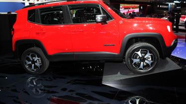 Jeep Renegade PHEV - Geneva side