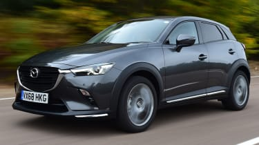 Mazda cx-3 tracking front