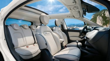 Fiat 500X Dolcevita - seats